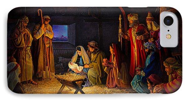 Jesus iPhone 7 Case - The Nativity by Greg Olsen