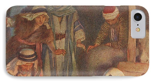 The Nativity IPhone Case by Harold Copping