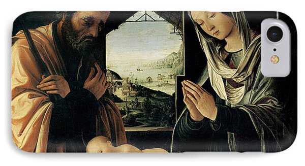 The Nativity Phone Case by Lorenzo Costa