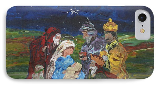 The Nativity Phone Case by Reina Resto