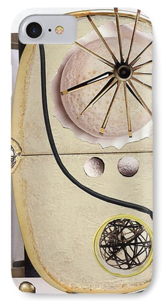 IPhone Case featuring the painting The Navigator by Michal Mitak Mahgerefteh