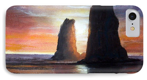 IPhone Case featuring the painting The Needles by Chriss Pagani
