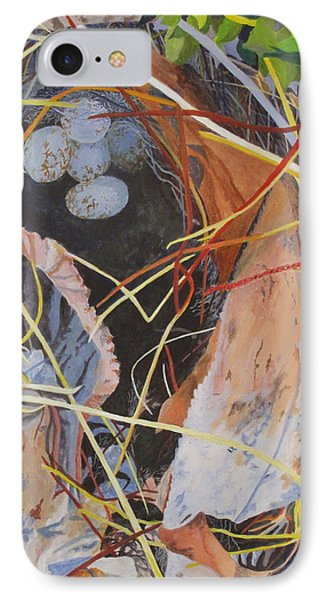 IPhone Case featuring the painting The Nest by Hilda and Jose Garrancho