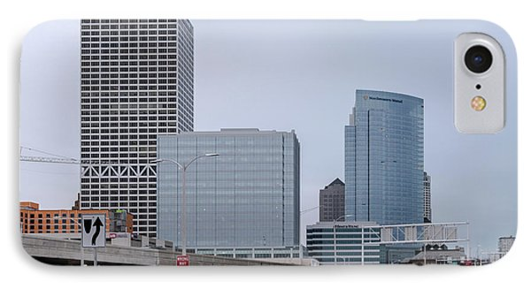 The New Milwaukee Skyline IPhone Case by Randy Scherkenbach