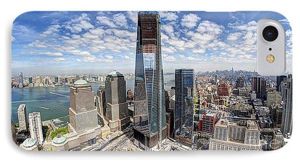 The New World Trade Center IPhone Case by Merton Allen
