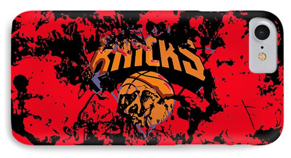 The New York Knicks 1a IPhone Case by Brian Reaves
