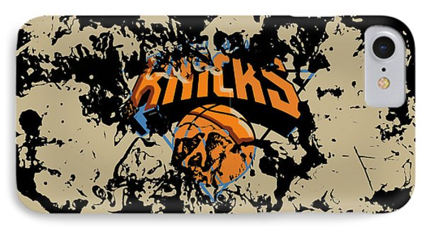 The New York Knicks 1b IPhone Case by Brian Reaves