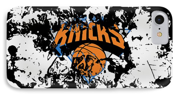 The New York Knicks 1c IPhone Case by Brian Reaves