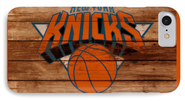 The New York Knicks 3a                        IPhone Case by Brian Reaves