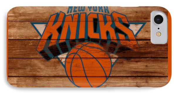 The New York Knicks 3b                        IPhone Case by Brian Reaves