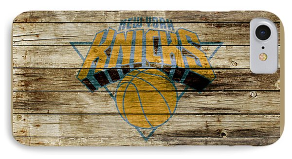 The New York Knicks W1 IPhone Case by Brian Reaves
