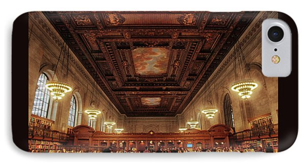 IPhone Case featuring the photograph The New York Public Library by Jessica Jenney