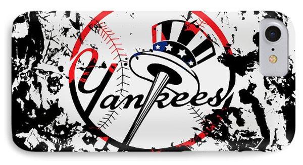 The New York Yankees 1b IPhone Case