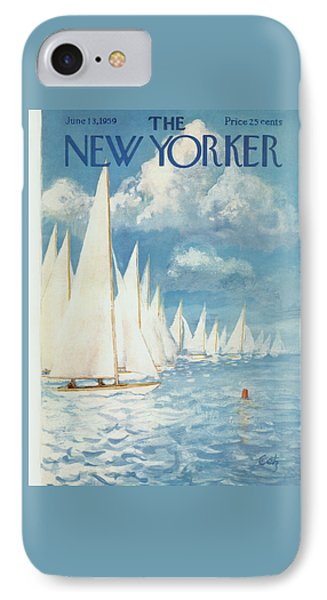 The New Yorker Cover - June 13th, 1959 IPhone Case