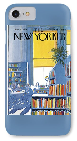 The New Yorker Cover - June 29th, 1968 IPhone Case