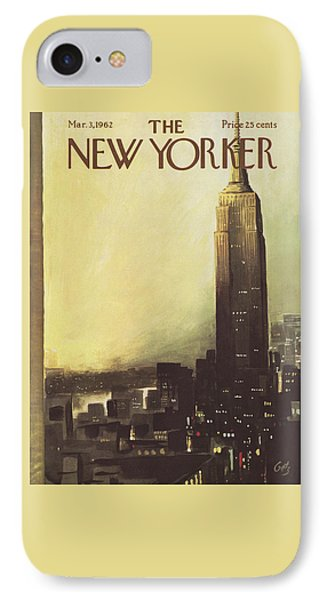 The New Yorker Cover - March 3rd, 1962 IPhone 7 Case
