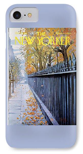 Autumn In New York IPhone 7 Case