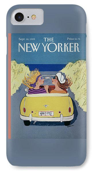 The New Yorker Cover - September 18th, 1989 IPhone Case