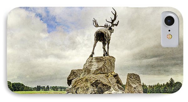 The Newfoundland Caribou Above The Trenches IPhone Case by Weston Westmoreland