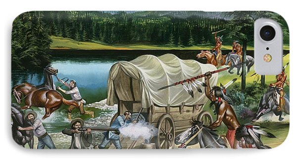 The Nez Perce Phone Case by Ron Embleton