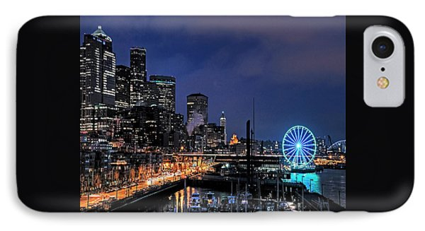 The Night Before Super Bowl Xlix, 2014, Seattle Waterfront IPhone Case