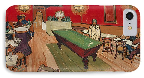 The Night Cafe In Arles IPhone Case by Vincent van Gogh