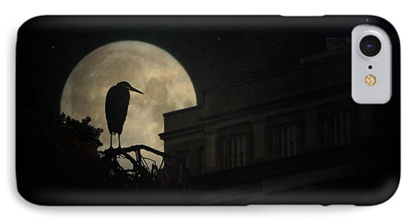 IPhone Case featuring the photograph The Night Of The Heron by Chris Lord