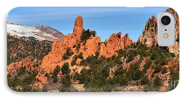 IPhone Case featuring the photograph The High Point View by Adam Jewell