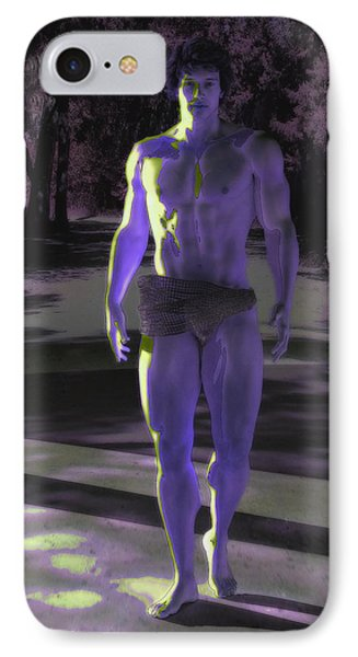 The Night Visitor IPhone Case by Quim Abella