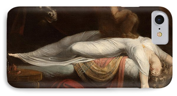 The Nightmare IPhone Case by Henry Fuseli