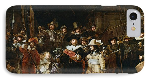 The Nightwatch IPhone Case by Rembrandt