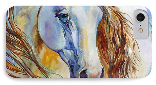 The Nobel Spirit Equine IPhone Case by Marcia Baldwin
