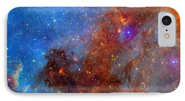 IPhone Case featuring the photograph The North America Nebula In Different Lights by NASA JPL - Caltech