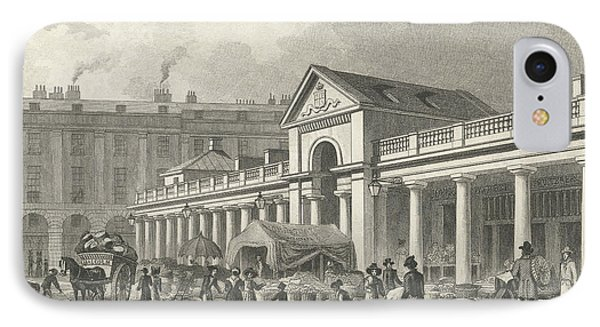 The North West Facade Of The New Covent Garden Market IPhone Case