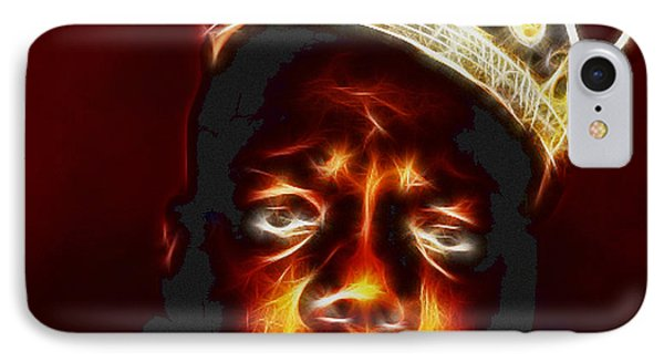 The Notorious B.i.g. - Biggie Smalls IPhone Case by Paul Ward