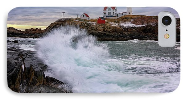 The Nubble After A Storm IPhone Case by Rick Berk