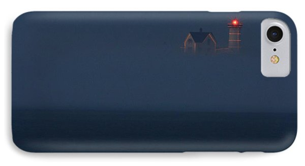 The Nubble At Night Phone Case by Lori Deiter