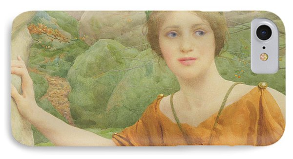 The Nymph Phone Case by Thomas Cooper Gotch