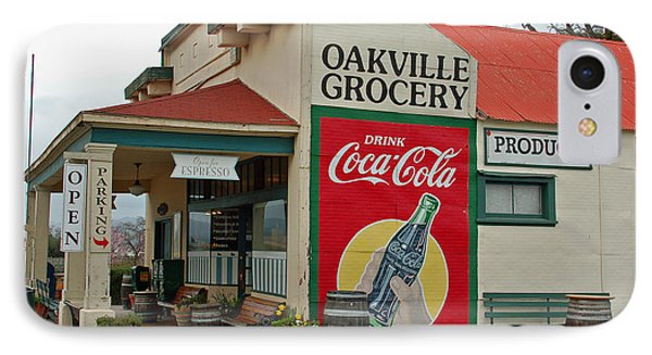 The Oakville Grocery Phone Case by Suzanne Gaff