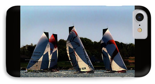 IPhone Case featuring the photograph The Ocean Race by Tom Prendergast