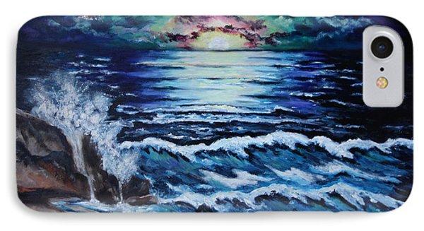 The Ocean Sings The Sky Listens Phone Case by Cheryl Pettigrew