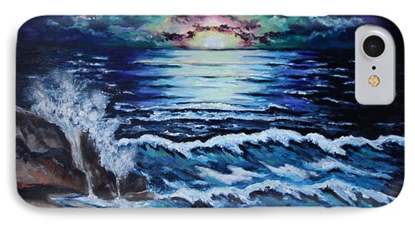 The Ocean Sings The Sky Listens IPhone Case by Cheryl Pettigrew