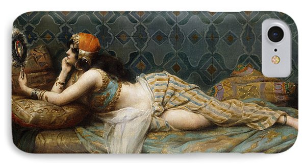 The Odalisque IPhone Case by Adrien Henri Tanoux