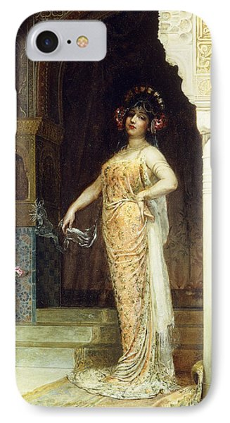 The Odalisque IPhone Case by Edouard Frederic Wilhelm Richter