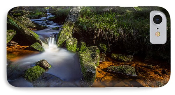 the Oder in the Harz National Park IPhone Case by Andreas Levi