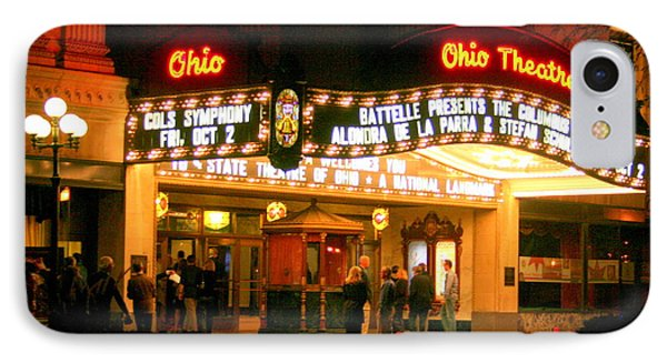 The Ohio Theater At Night IPhone Case