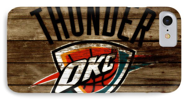 The Oklahoma City Thunder W9           IPhone Case by Brian Reaves