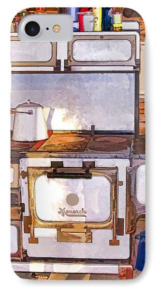 The Ol' Kitchen Range IPhone Case by Susan Crossman Buscho