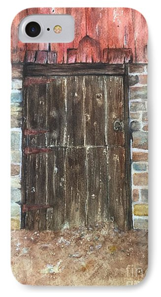 The Old Barn Door IPhone Case