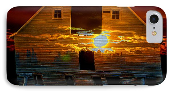 The Old Barn IPhone Case by Stuart Turnbull